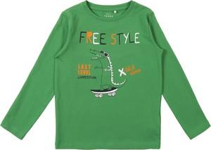 Koszulka dziecięca Name it z dżerseju dla chłopców z długim rękawem