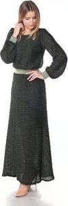 Sukienka Silje z długim rękawem maxi