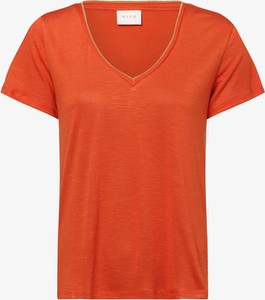 T-shirt Vila w stylu casual z dżerseju