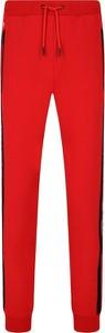 Czerwone spodnie sportowe Guess Underwear