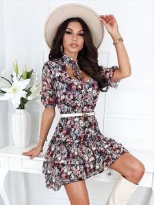 Sukienka Infinityfashion.pl mini z dekoltem w kształcie litery v