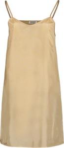 Sukienka Lavard mini z tkaniny z dekoltem w kształcie litery v