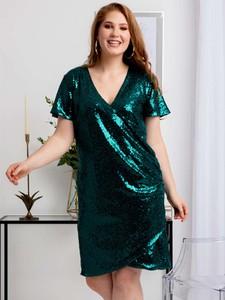 Sukienka KARKO z tkaniny ołówkowa