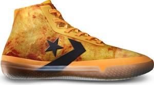 Pomarańczowe buty sportowe Converse