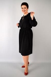3046739de7 mała czarna sukienka rozmiar 48. - stylowo i modnie z Allani