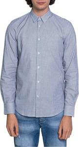 Niebieska koszula Antony Morato z bawełny