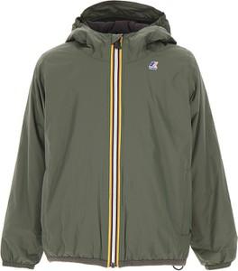 Zielona kurtka dziecięca K-Way