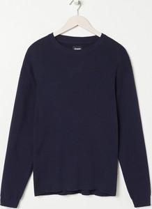 Sweter Sinsay w stylu casual z okrągłym dekoltem