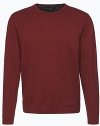 Bordowy sweter finshley & harding