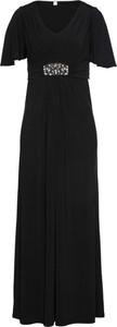 Czarna sukienka bonprix bpc selection maxi
