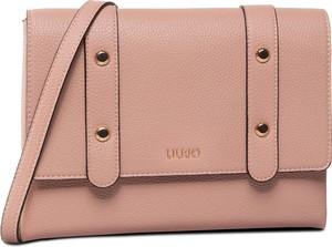Różowa torebka Liu-Jo w stylu casual