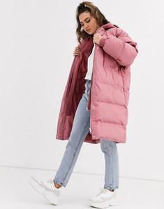 Różowy płaszcz Missguided z dżerseju