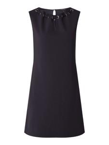 Granatowa sukienka comma, mini