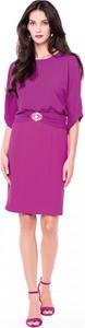Fioletowa sukienka L'AF midi
