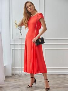 Czerwona sukienka Ella Boo maxi