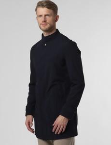 Granatowy płaszcz męski Finshley & Harding
