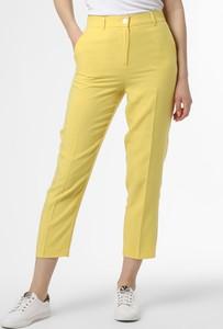 Żółte spodnie Apriori ze sztruksu