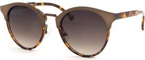 Brązowe okulary damskie Galzani