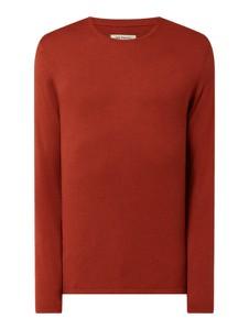 Czerwony sweter McNeal w stylu casual z bawełny