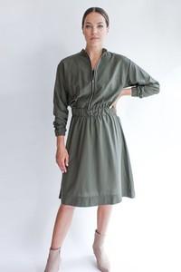 5a9db4330a19 Sukienka True Color By Ann z jedwabiu