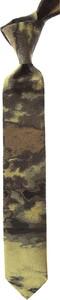 Zielony krawat Christian Lacroix z jedwabiu