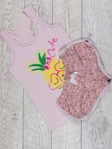 Różowa piżama inny