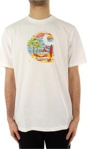 T-shirt Carhartt WIP z krótkim rękawem z bawełny
