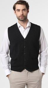 Czarna kamizelka Finshley & Harding z bawełny
