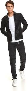 Czarna kurtka Top Secret w stylu casual krótka