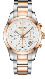 ZEGAREK LONGINES Conquest Classic Column-Wheel Chronograph ULO/2096