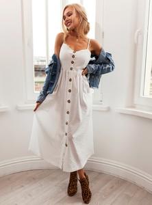 Sukienka SELFIEROOM midi w stylu casual