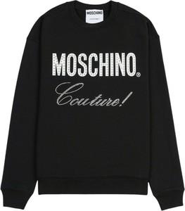 Czarna bluza Moschino