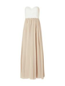 Sukienka Laona z szyfonu gorsetowa maxi