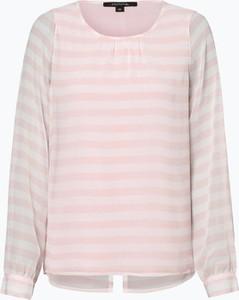 Różowa bluzka comma, z szyfonu