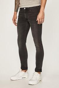 Czarne jeansy Lee z bawełny