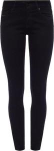 Czarne jeansy Diesel w stylu casual z bawełny