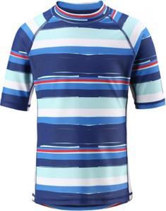 Granatowa koszulka dziecięca Reima z krótkim rękawem
