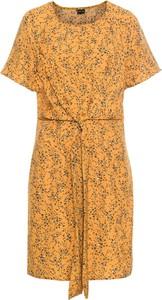 Sukienka bonprix BODYFLIRT z okrągłym dekoltem w stylu casual