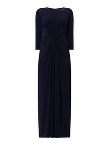 Granatowa sukienka Adrianna Papell