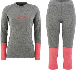 Bielizna termoaktywna damska Cover Majesty (grey/pink)