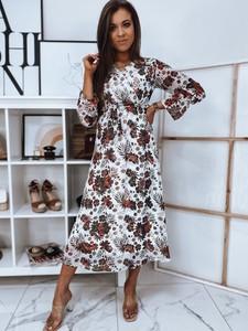 Sukienka Dstreet z długim rękawem maxi