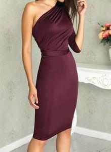 Sukienka Arilook asymetryczna midi