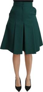 Zielona spódnica Dolce & Gabbana midi
