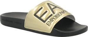 Klapki Emporio Armani w stylu casual z płaską podeszwą