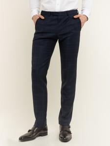 Granatowe spodnie Digel