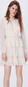 Sukienka Sinsay w stylu casual mini z długim rękawem