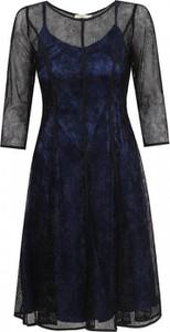 Czarna sukienka POTIS & VERSO z satyny
