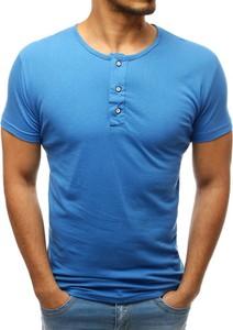 T-shirt Dstreet w stylu casual z tkaniny