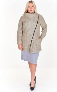 Płaszcz Fokus długa w stylu casual