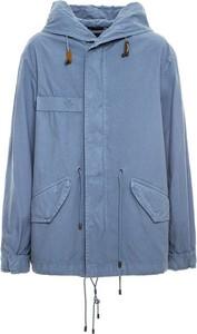 Niebieska kurtka Mr&mrs Italy w stylu casual